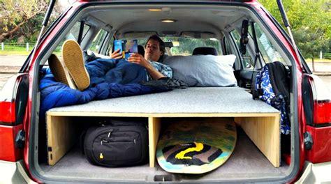 Bed In Car lars zeekaf how i built a bed in my car in 3 simple steps