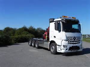 Used Mercedes Trucks For Sale Used Mercedes Arocs 3248l 8x4 Crane Trucks Year 2016