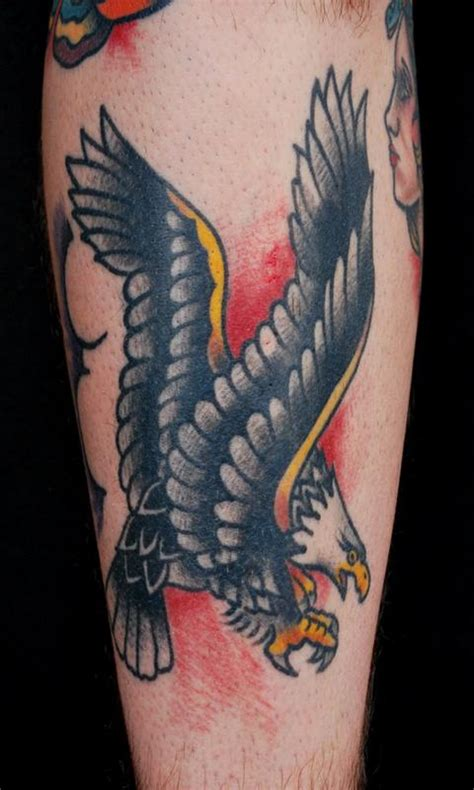 eagle nautical tattoo sailor jerry eagle tattoo by adam lauricella tattoonow