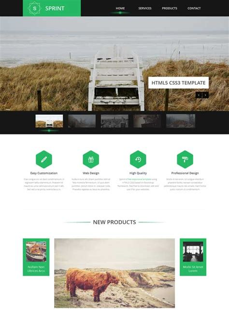 bootstrap responsive template 70 mindblowing bootstrap business templates for