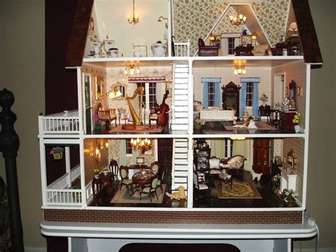 doll house themes 112 jpg furnished victoria s farmhouse gallery the greenleaf miniature community