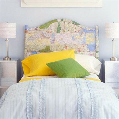 world map headboard modernise your bedroom with a simple headboard