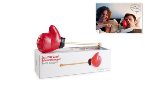 the zzzz zzzz zzzz snore stopper boxing glove puncher gift