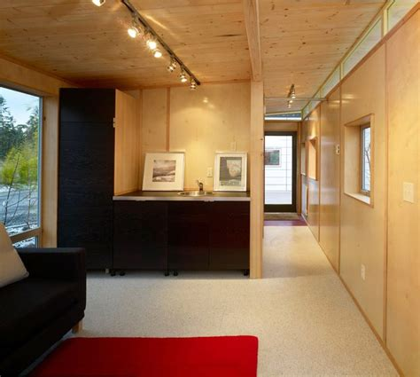 modular home interior shed