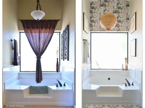 before after a builder grade bedroom goes cozy yahoo amazing bathroom reno under 2k cg home interiors