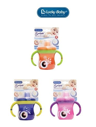 Gelas Spout Baby lucky baby snipee spout cup