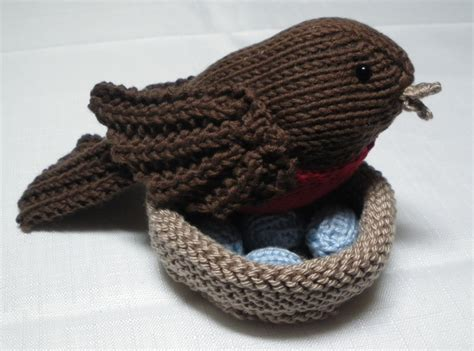 Birds To Knit For Free Patterns Grandmother S