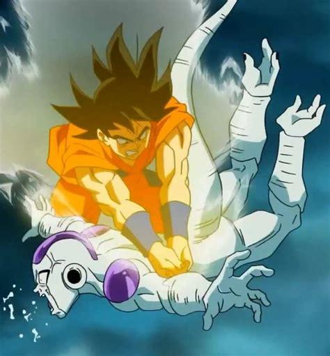 imagenes de goku vs freezer goku vs freezer dragonball ƶ fukkatsu no f dbz la