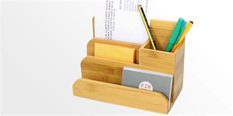 pen organizer for desk small desk organiser pen holder bamboo stationery