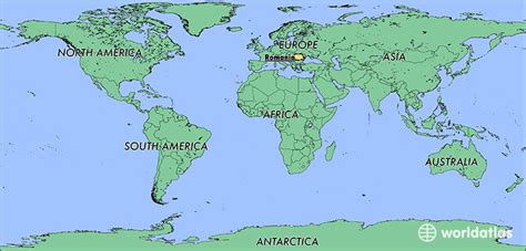 romania on the world map where is romania where is romania located in the world