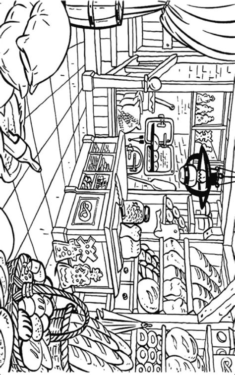 Kids-n-fun.com | Coloring page Bakery Bakery