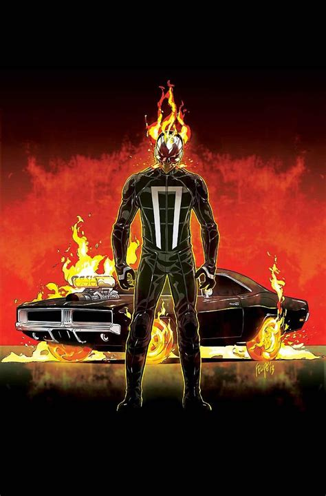 The New Ghost look at all new ghost rider 1 by felipe smith and tradd