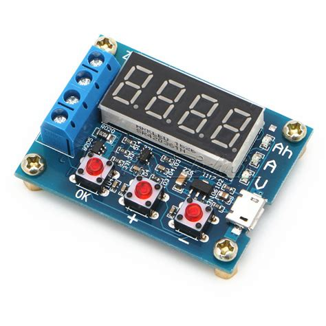Battery Capacity Meter Discharge Tester 15v12v For 18650 Li Ion battery capacity meter discharge tester 18650 li ion