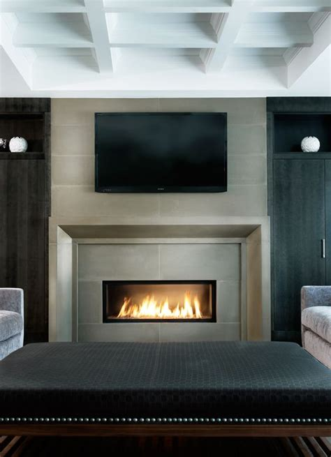 Fireplaces Ontario by Modern Concrete Fireplaces Countertops Cladding