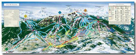 snowmass trail map snowmass mountain trail map mountain chalet aspen