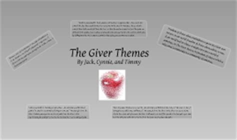 Themes In Book The Giver | the giver themes by tcj fso on prezi