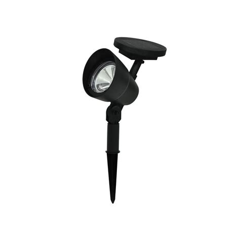 solar black spot light s8178 the home depot