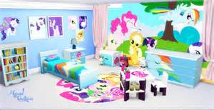 My Little Pony Bedroom Ideas my sims 4 blog my little pony bedroom set by miguel