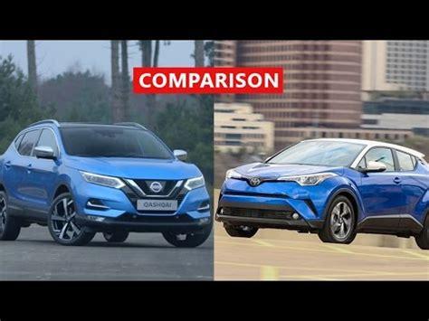 2017 nissan qashqai vs 2018 toyota c hr comparison
