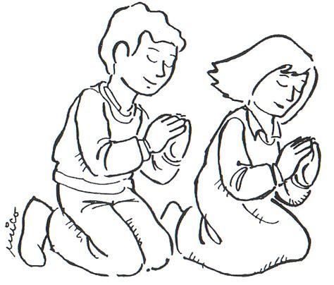 imagenes de mujeres orando para colorear personas orando dibujos imagui