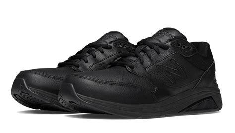 new balance s walking shoes black leather mw928bk2