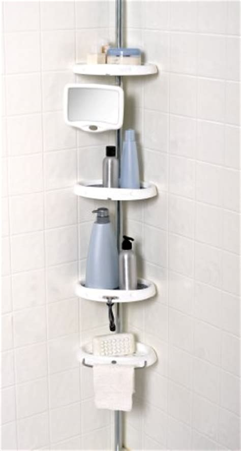 zenith e2132hb tub and shower tension pole caddy oil zenith bathstyles tension pole shower caddy chrome
