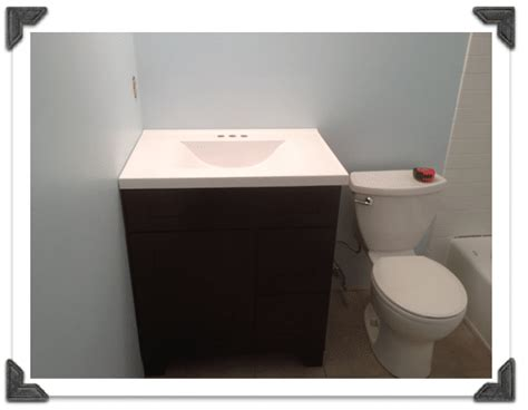 How To Install Bathroom Vanity by Vanities For Small Bathrooms Easy Installation In Less