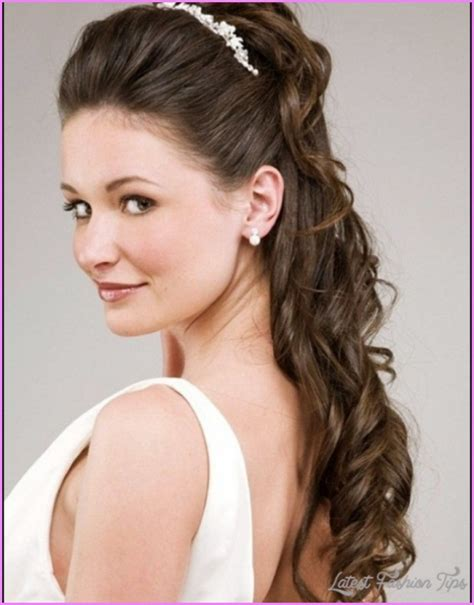 Wedding Hairstyles Half Up With Veil by Bridal Hairstyles Half Up With Veil Latestfashiontips
