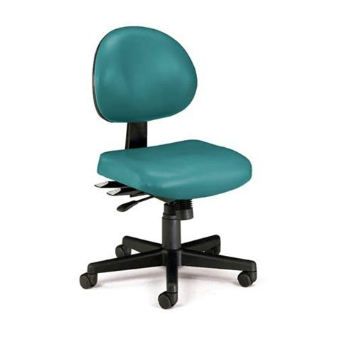 Teal Office Chair by Teal Vinyl Office Chair Bellacor