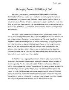 Dbq Essay Exle by Causes Of Wwi Dbq Essay Welcome