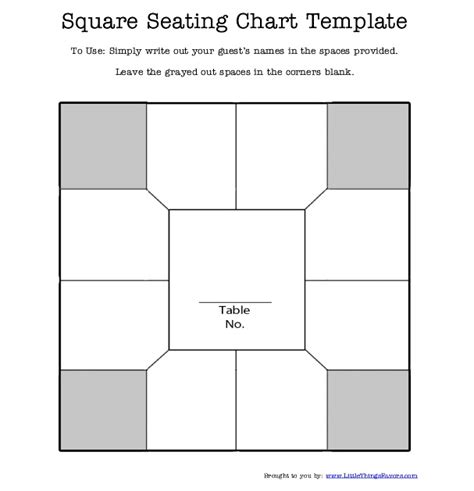 free printable wedding seating chart template table seating plan