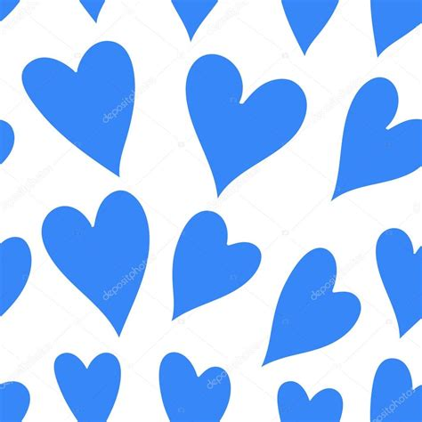 pattern blue heart blue heart seamless pattern stock photo 169 lesichkalll27