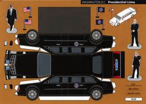 Cars Fold Out by Make City Washington D C Presidential Limo Cut Out
