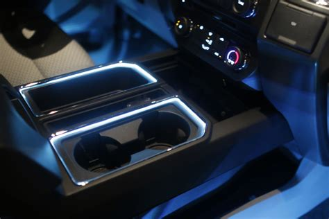 2017 Ford F150 Lights Not Working by 2015 F150 Cup Holder Light Kit Install F150leds