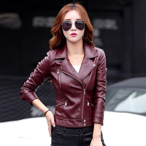 jacket design for ladies leather jacket women short design motorcycle leather