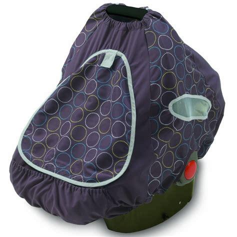 infant car seat slipcover summer infant baby shade infant car seat cover black