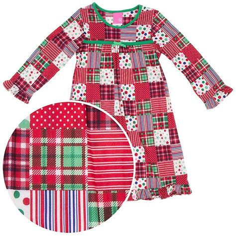 Patchwork Pajama - patchwork nightgown for