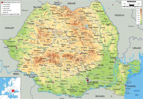 a map of cities romania political map map of romania romania city map