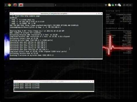 nmap tutorial youtube port scanning with nmap full description youtube