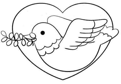 imagenes para colorear sobre la paz paloma de la paz para pintar colorear im 225 genes
