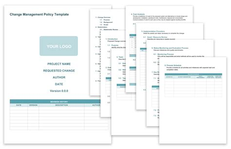 Change Policy Template by Free Change Management Templates Smartsheet