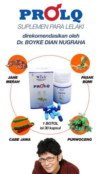 Wish Prolq Herbal Alami Stamina Pria Pro Lq 1 cara meningkatkan kesuburan pria