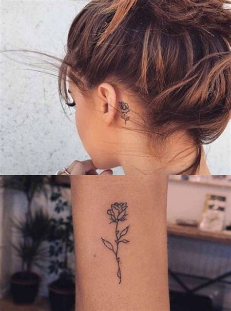 female tattoo placement beautiful flower placement for to