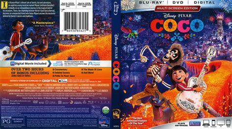 coco blu ray coco 2018 r1 blu ray cover dvdcover com