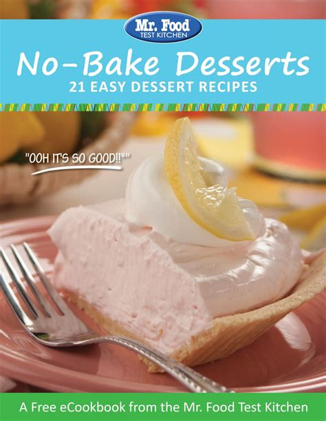 baking cookbook 270 dessert recipes for sweet treats books free recipe ecookbooks mrfood