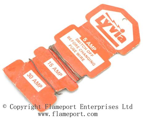 electric fuse wire fuses introduction