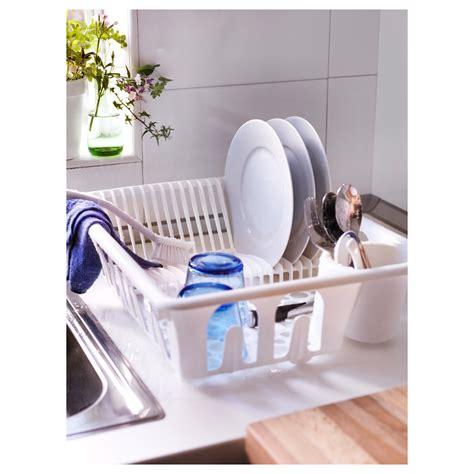 Kitchen Dish Rack Ikea by Flundra Dish Drainer White Ikea