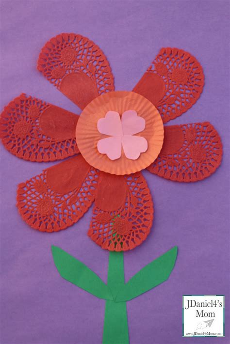 flower craft ideas for ideas flower craft for