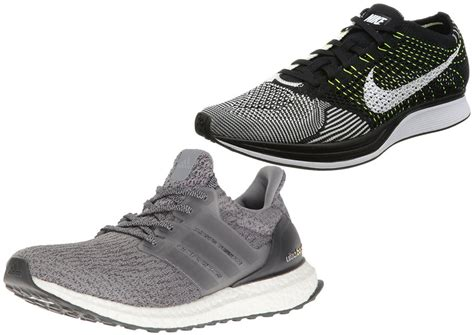 Nike Ultra Boost adidas ultra boost vs nike flyknit racer comparingshoes