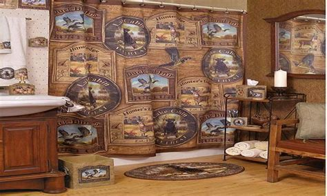 duck hunting bathroom decor hunting lodge bathroom decor lodge bathroom accessories